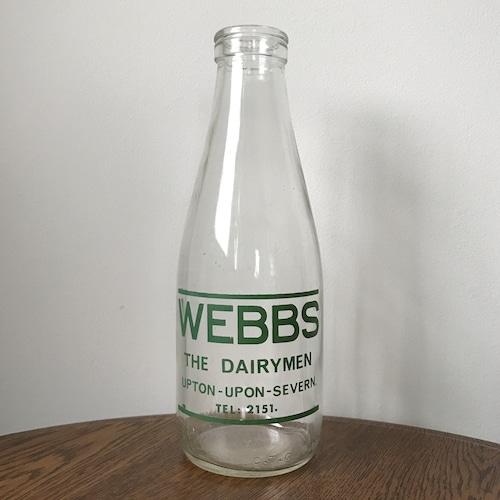 Milk Bottle green