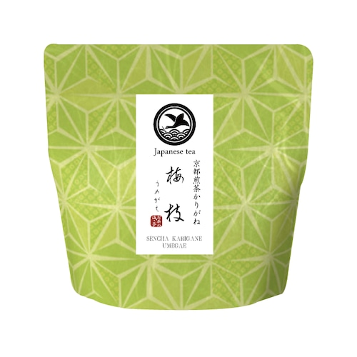 【いろどり】煎茶かりがね 梅枝(うめがえ)リーフ(茶葉)50g