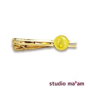 【馬蹄ゴールド】タイピン 05(黄色)