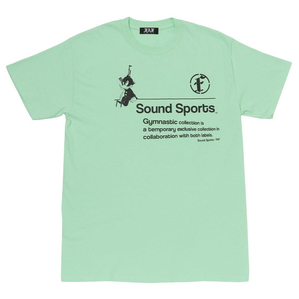 Practice uniform tee (FAFxSound Sports) / Light Green - 画像1