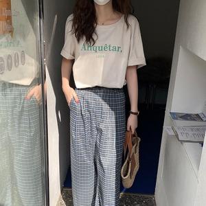 アルファペットプリントゆるTシャツ LXST21022