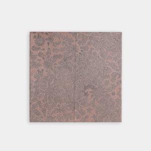 Shiori Mukai Textile パネル 063 向井詩織 ブロックプリントパネル 約53×53cm