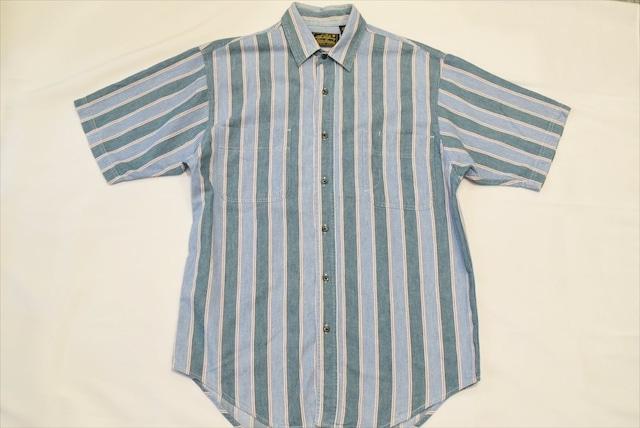 USED 90s Eddie Bauer S/S shirt -Medium 01017