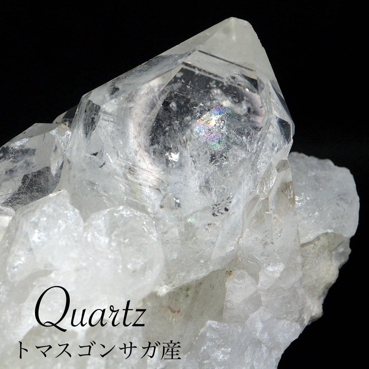 トマスゴンサガ産 クォーツ クリスタル クラスター 131,7g 水晶 ポイント QZ089 鉱物 天然石 パワーストーン ヒーリング