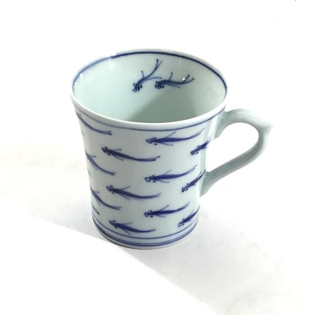 めだか紋マグカップ