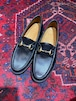 .GUCCI LEATHER HORSE BIT LOAFER MADE IN ITALY/グッチレザーホースビットローファー 2000000050492