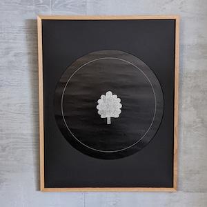 「可視化の構造」展ポスター 永井一正