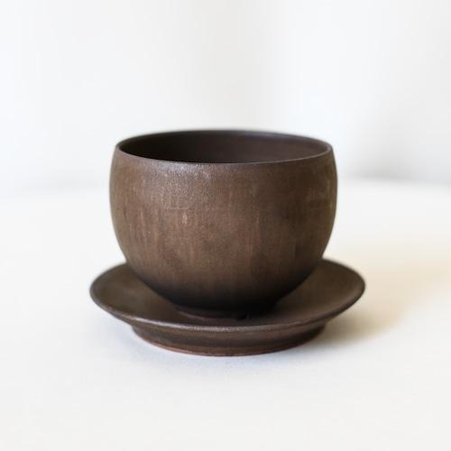 Bowl Pot(cognac)※SMALL