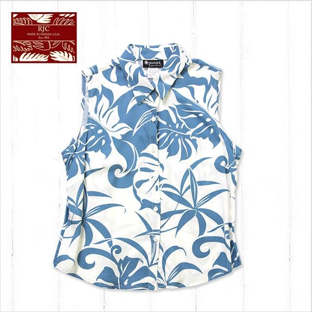 レディース(ブルー)※袖なし/W417O-RB-BL