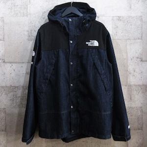 SUPREME × TNF 15SS Denim Dot Shot Jacket