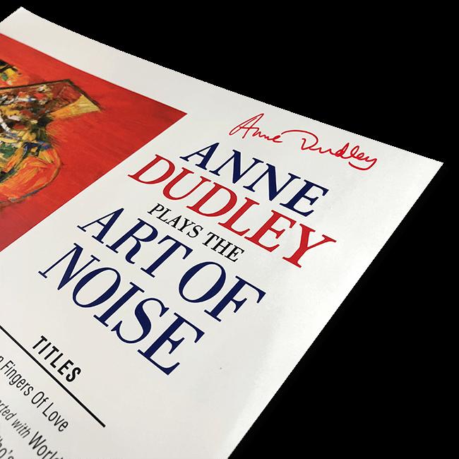 アン・ダドリー『プレイズ・アート・オブ・ノイズ』アナログレコード - 画像3