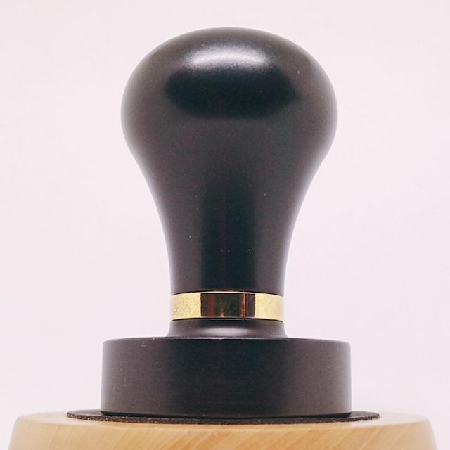 TORRタンパー●チタンコートClassic 49mm フラット プレミレニアム パヴォーニタンパー