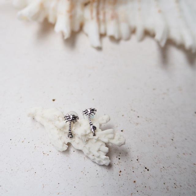 Silver Palmtree Pierced Earring《SILVER925》18380196 S2