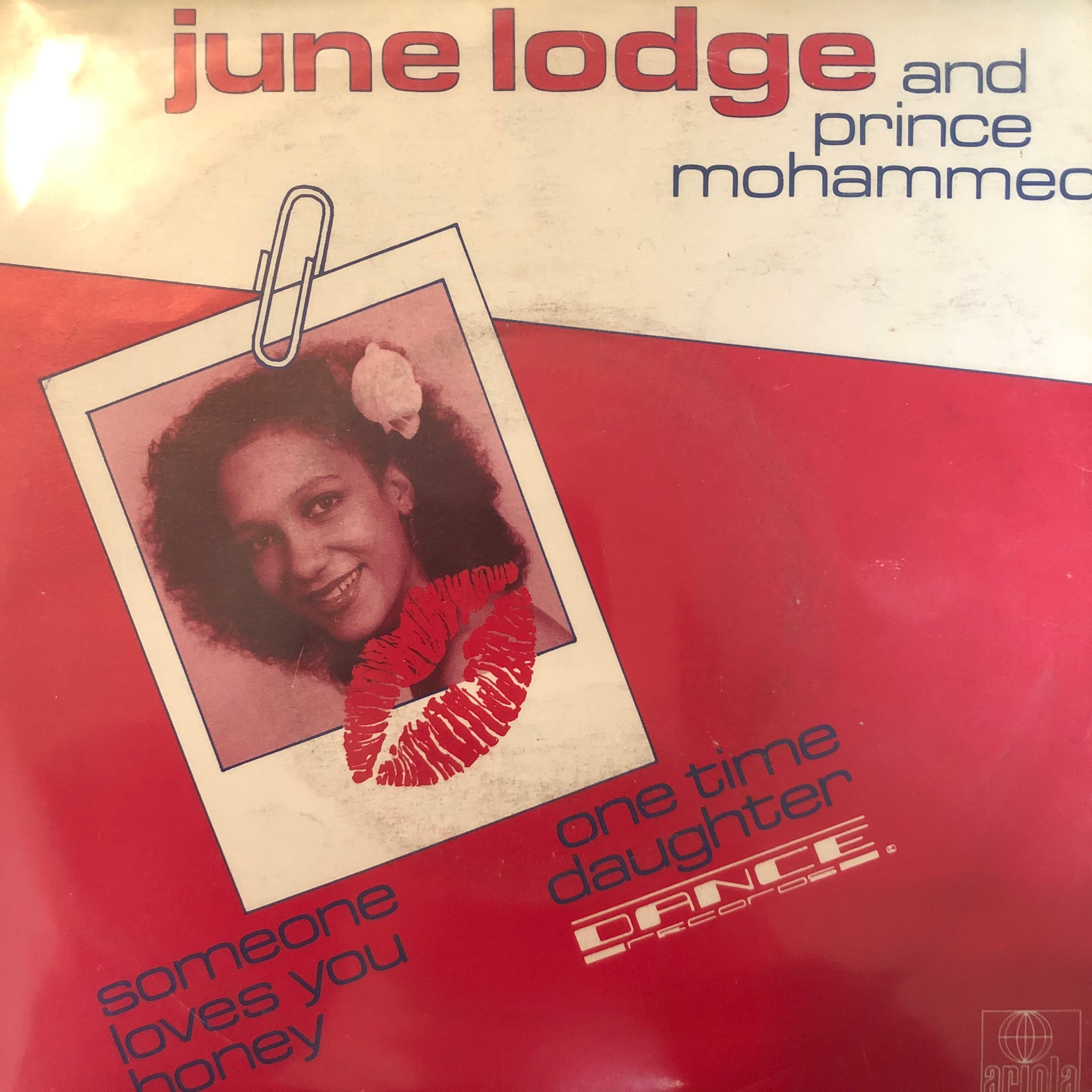 June Lodge And Prince Mohammed - Someone Loves You Honey【7-20379】