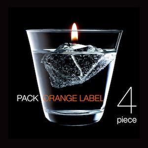 燃える氷/バーニス4個パック オレンジラベル