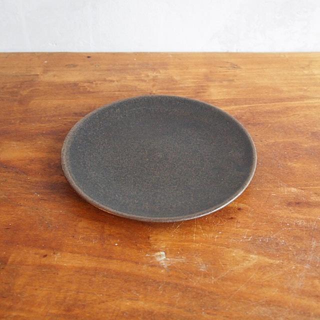 松尾直樹 | 鉄釉 取り皿