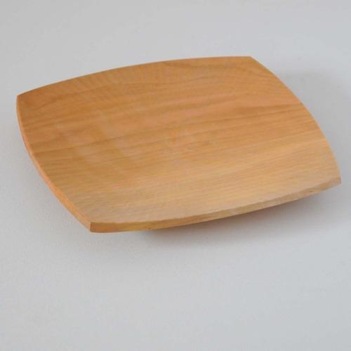 大久保公太郎(大久保ハウス木工舎)パン皿(桜)シノギ
