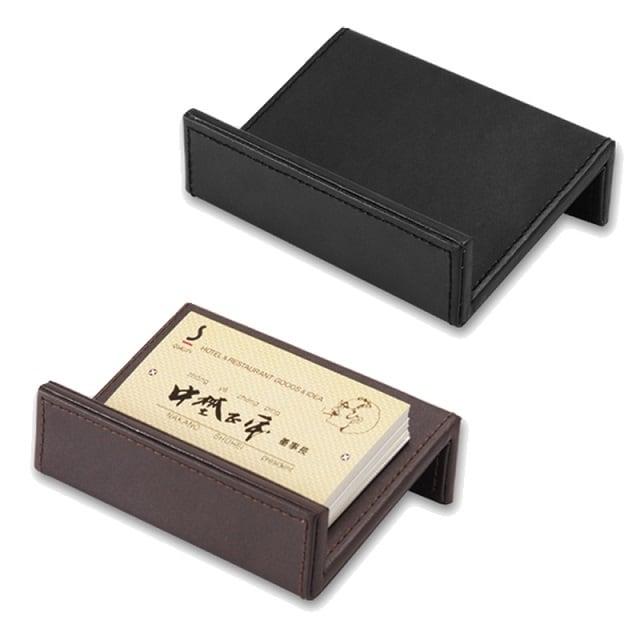 合皮製名刺スタンド LUD-103