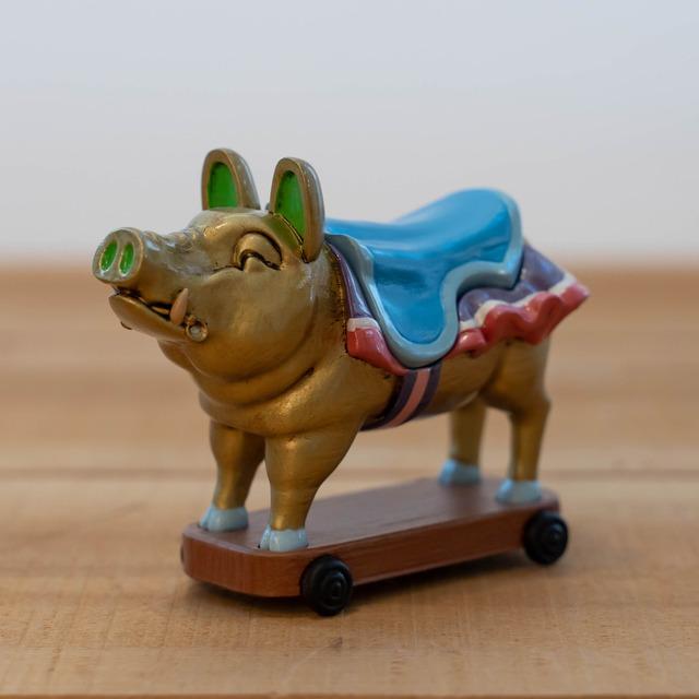 耳をすませば 小物入れ(地球屋の入り口の金の豚/1440)