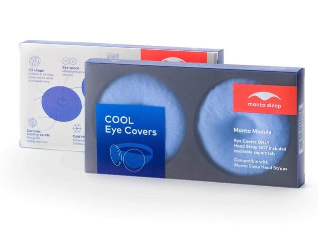 ひんやり目元スッキリ マンタ クールアイカップ (Manta Cool Eye Cup)
