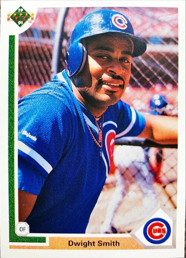 MLBカード 91UPPERDECK Dwight Smith #452 CUBS