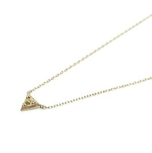 G_Pyramid Necklace - K18YG
