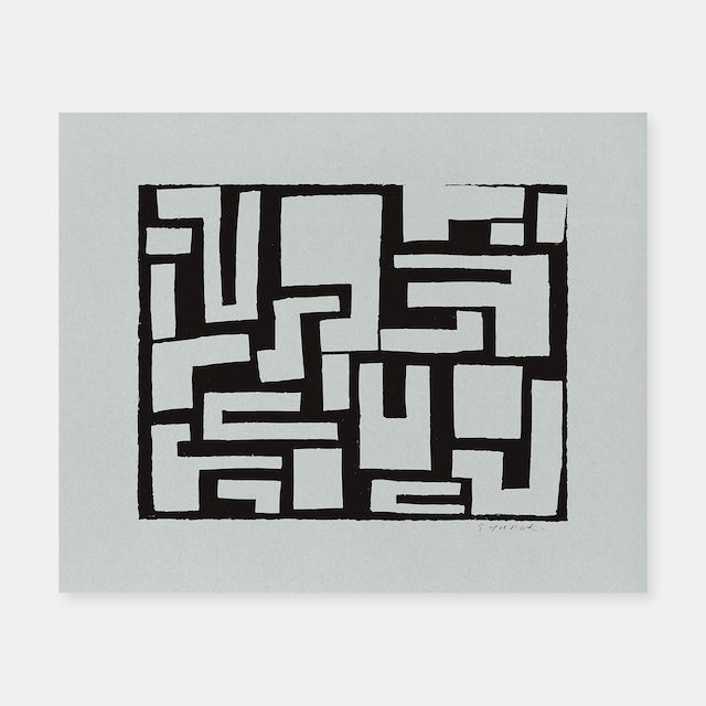 SIWA | 紙和×柚木沙弥郎 SAMIRO YUNOKIM シルクスクリーン作品 01