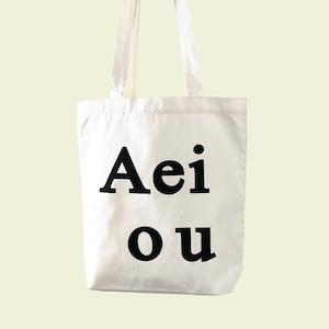 [Aeiou] logo bag (全5色)