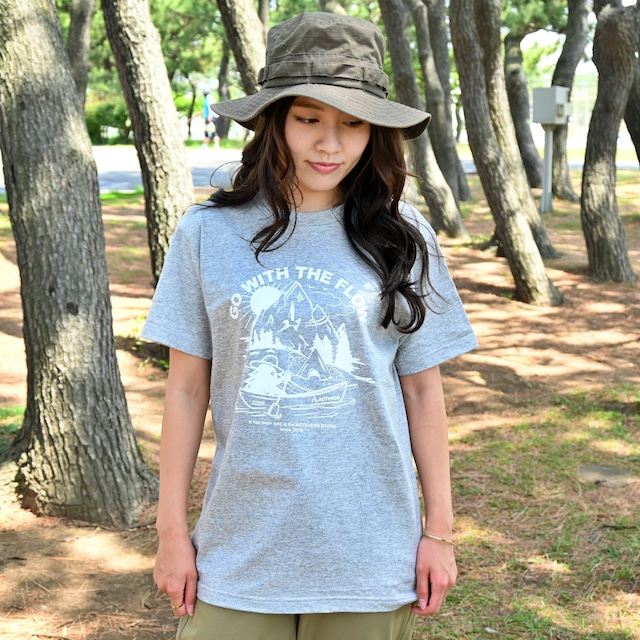 ACTPROS × OUTDOOR MONSTER GWTF 5.6oz ヘビーウェイト White Logo TEE【8colors】