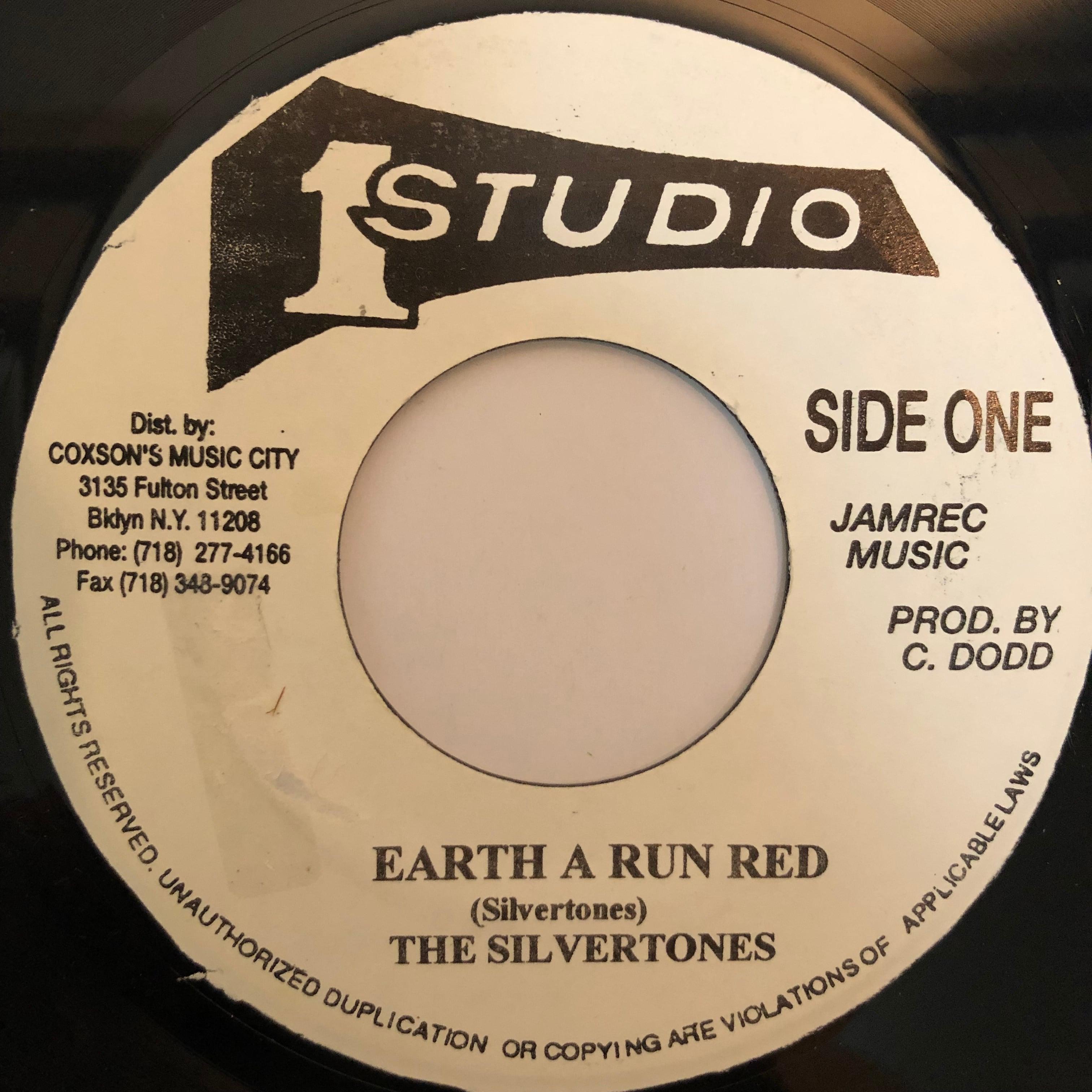 The Silvertones(シルバートーンズ) - Earth A Run Red【7-20280】