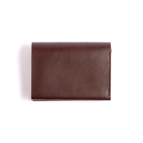 Postalco/Pressed Cotton Card & Coin Wallet/Olive Green