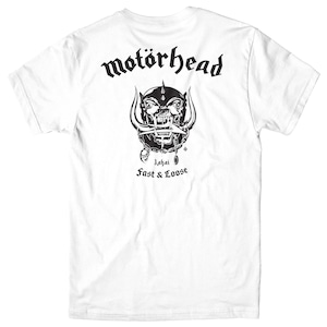 LAKAI MOTORHEAD WAR PIG TEE WHITE L ラカイ モーターヘッド