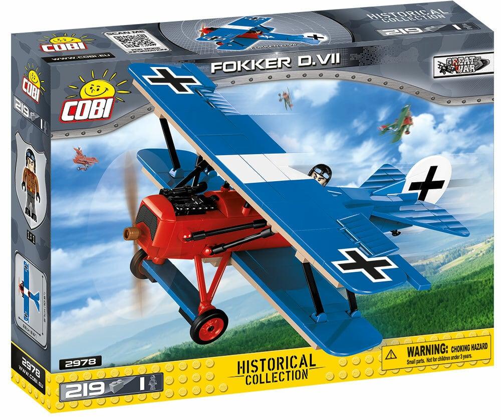 COBI #2978 フォッカー・デー・ズィーベン 戦闘機