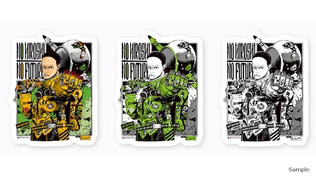 Collaborative Sticker by Hiroshi Matsuyama (CyberConnect2) and jbstyle.