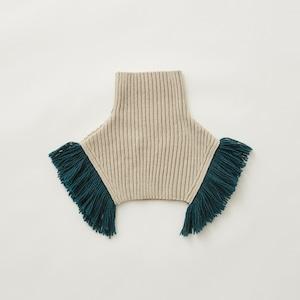 eLfinFolk  Rib knit cape (écru) S/M elf-212K10 メール便可