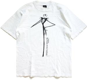 90年代 ナイトメア・ビフォア・クリスマス 映画 Tシャツ 【L】   ヘンリー・セリック ティム・バートン ホラーTシャツ アメリカ ヴィンテージ 古着
