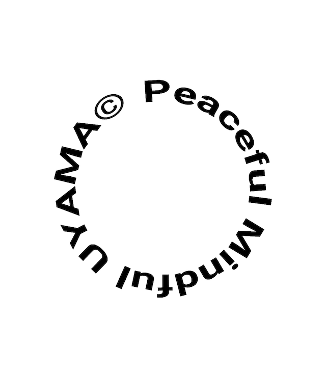 "Peaceful/Mindful パーカー ""富士"""
