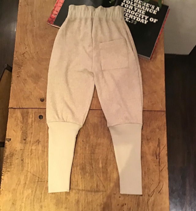 FUMIETANAKA F20A-31 warm rib pants color beige  size 36 1点 38 1点