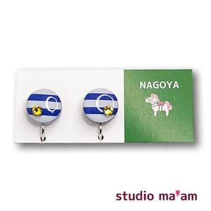 ■NAGOYA-15  イヤリング。まる。〜ピアス変更可〜