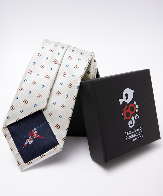 タツノコプロ60周年記念【宇宙の騎士テッカマン】小紋柄ネクタイ