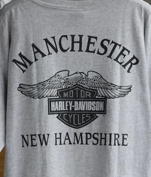 VINTAGE 90s HARLEY-DAVIDSON NEW HAMPSHIRE T-SHIRT