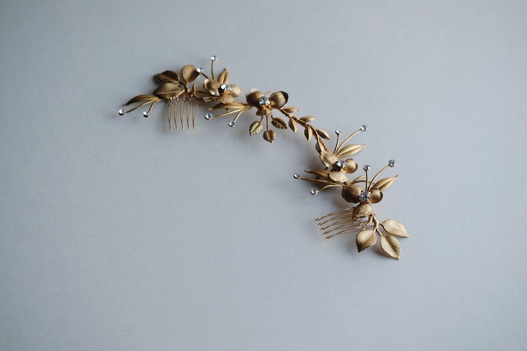 Bridal hairaccessory ・vintage・1013/sale