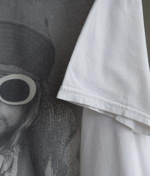 USED BAND T-shirt -KURT DONALD COBAIN from NIRVANA-