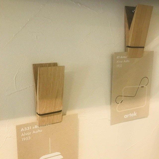 MOEBE (ムーベ)  Pinch ピンチ ナチュラル  北欧デザイン 壁掛け フック