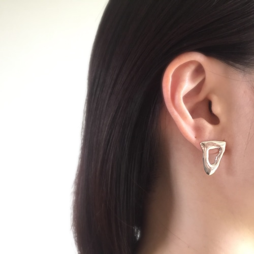 Tube colors pierced earrings△