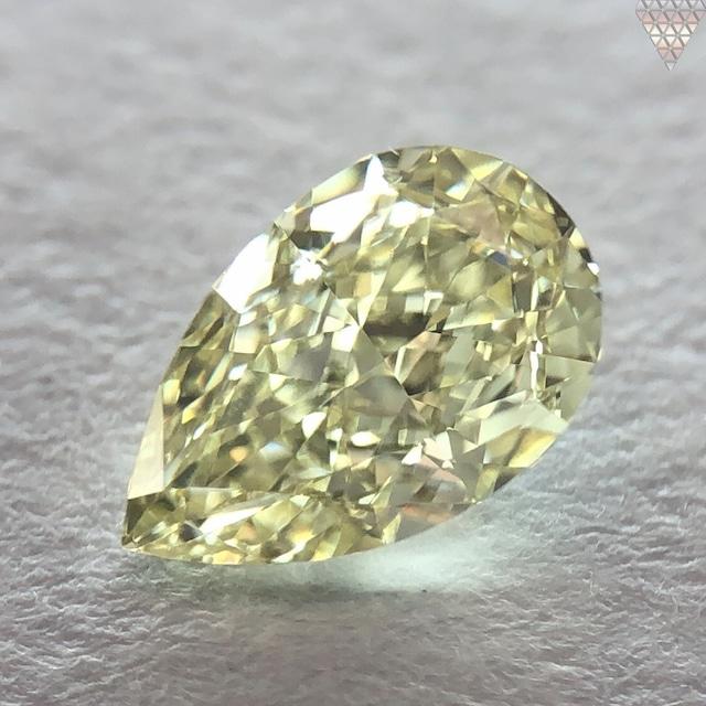 0.51 ct Y-Z VVS1 PEAR GIA 天然  ダイヤモンド ルース