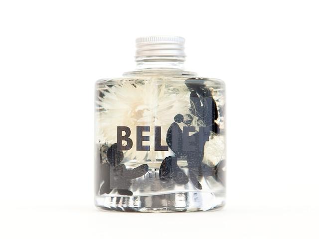 hikka ハーバリウム 10feelings BLACK/Belief
