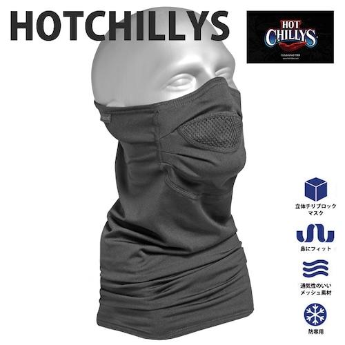 HOT CHILLYS (ホットチリーズ) マイクロエリート シャモア マスク HC6114 ネックウォーマー 冬 スノボ アウトドア バイク 雪山 極寒冷地 アイスクライミング