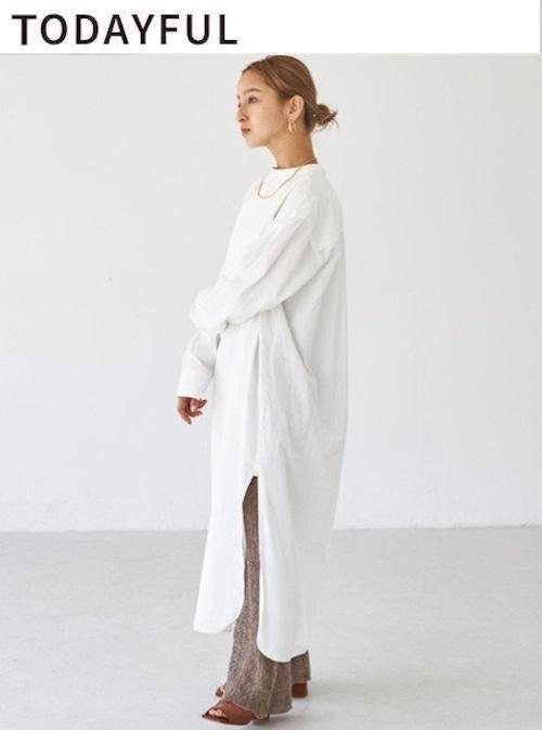TODAYFUL (トゥデイフル) Dress Shirts Onepiece 21秋冬【12120308】