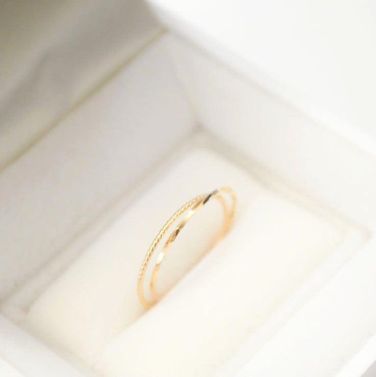 K18 Two-strand Ring